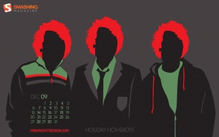 Random: Holiday Homeboys