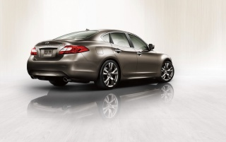 2011 Infiniti M Studio Rear wallpapers and stock photos