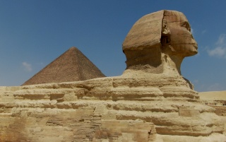 The great Sphinx of Giza wallpapers and stock photos