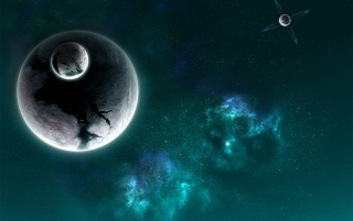 Impact Moon wallpapers and stock photos