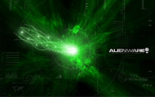 Alienware green wallpapers and stock photos