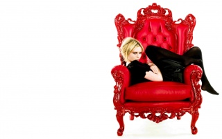 Kirsten Red Chair wallpapers and stock photos