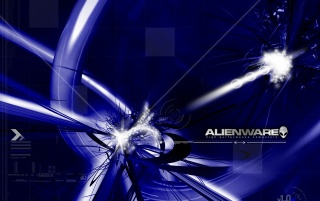 Alienware blue wallpapers and stock photos