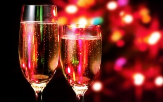 Christmas Champagne wallpapers and stock photos