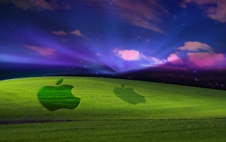 Mac on Windows Turf WIDE wallpapers and stock photos