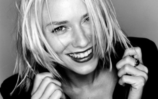 Naomi Watts Closeup B&W 2 wallpapers and stock photos
