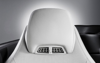 2010 E-Class Cabriolet Headrest wallpapers and stock photos