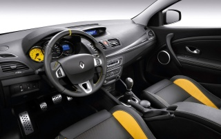 2010 Megane Sport Dashboard wallpapers and stock photos