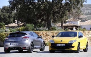 2010 Megane Sport Duo wallpapers and stock photos