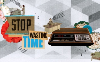 Stop wasting time wallpapers and stock photos
