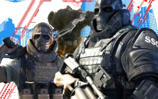 Army of Two artwork abstract wallpapers and stock photos