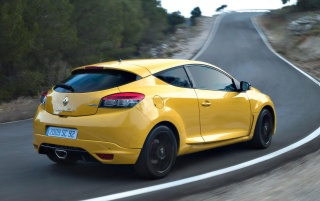2010 Megane Sport Rear and Side Turn wallpapers and stock photos