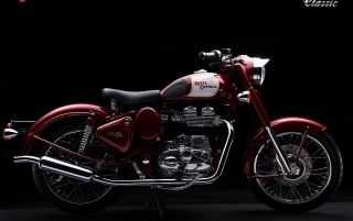 Bullet 500 classic MAroon wallpapers and stock photos