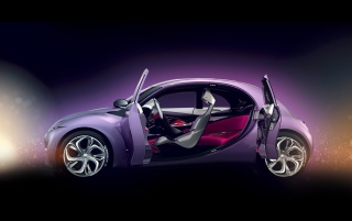 citroen concept open door wallpapers and stock photos