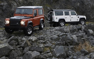 Land Rover Jeep Dual wallpapers and stock photos