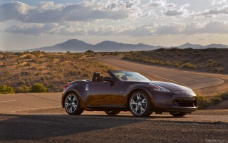 Nissan 370Z Convertible wallpapers and stock photos
