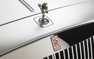 Rolls-Royce 200EX LOGO wallpapers and stock photos