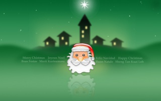 Green Christmas star wallpapers and stock photos