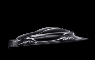 Mercedes Benz Design Sculpture 2 wallpapers and stock photos