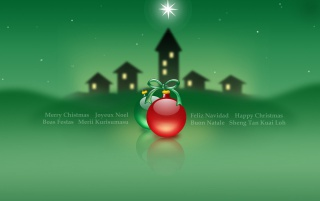 Christmas green star wallpapers and stock photos