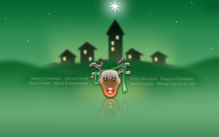 Christmas in green wallpapers and stock photos