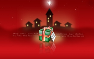 Navidad caja roja wallpapers and stock photos