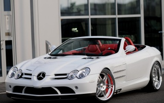 mercedes slr smart brabus [1]n wallpapers and stock photos