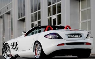 mercedes slr smart brabus [2] wallpapers and stock photos