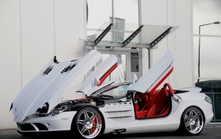 mercedes slr smart brabus [3] wallpapers and stock photos