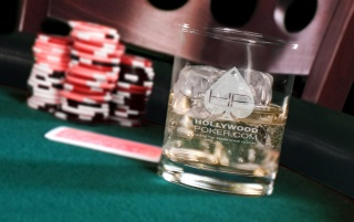 Poker table on the rocks wallpapers and stock photos