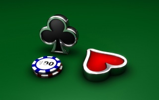 Royal flush wallpapers and stock photos