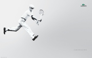 Lacoste tennisman wallpapers and stock photos