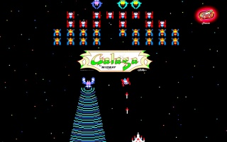 80 Mania: Galaga wallpapers and stock photos