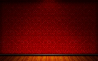Classique - Red room wallpapers and stock photos