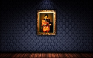 Michael Jackson's Portrait wallpapers and stock photos