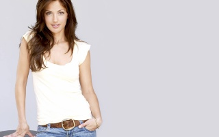 Minka White Shirt 2 wallpapers and stock photos