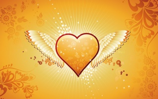 Heart angel wallpapers and stock photos