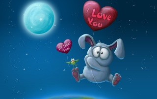 The Bunny Who loves me wallpapers and stock photos