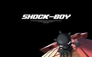 Shock Boy wallpapers and stock photos