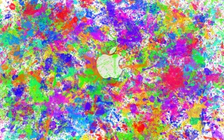 Apple Color Splat wallpapers and stock photos