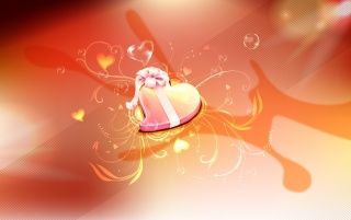 Heart gift wallpapers and stock photos