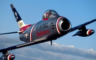 North American F-86 Sabre wallpapers and stock photos
