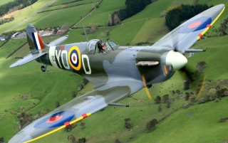 Supermarine Spitfire Mk Vb wallpapers and stock photos