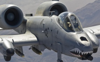 Fairchild A-10A Thunderbolt II wallpapers and stock photos