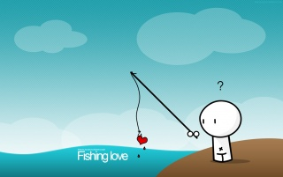 Fishing love wallpapers and stock photos