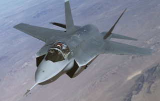 Lockheed Martin F-35 Lightning wallpapers and stock photos