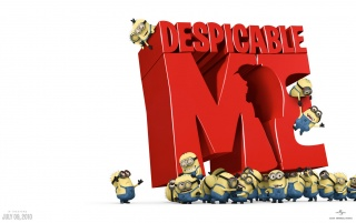 Despicable Me red wallpapers and stock photos
