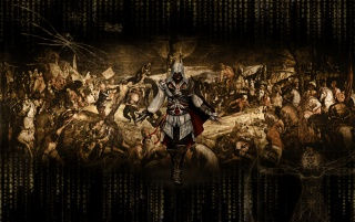 Ezio Assassins Creed 2 wallpapers and stock photos