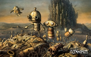 Machinarium cover wallpapers and stock photos