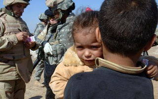 War zone children wallpapers and stock photos